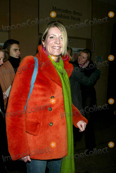 Alice Sykes, Narciso Rodriguez Photo - Alice Sykes at Narciso Rodriguez Showing of Fall/winter 2003 Collections in the Tent at Bryant Park in New York City on February 11, 2003. Photo by Henry Mcgee/Globe Photos, Inc.2003.
