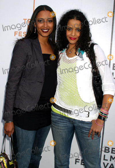 Sydney Poitier, Anika Poitier, Sydney Tamiia Poitier Photo - Anika Poitier and Sydney Tamiia Poitier Arriving at the Tribeca Film Festival Premiere of the Devil Cats at United Artists Battery Park Theatres in New York City on May 6, 2004. Photo by Henry Mcgee/Globe Photos, Inc. 2004.
