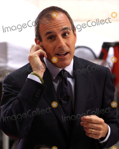 "Matt Lauer Photo - Matt Lauer on Nbc's ""Today"" Show Toyota Concert Series at Rockefeller Plaza in New York City on 05-01-2009. Photo by Henry Mcgee-Globe Photos, Inc. 2009."