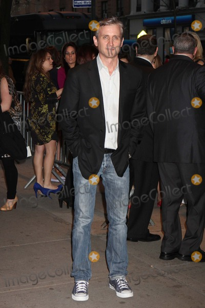 """Dan Abrams Photo - Dan Abrams Arriving at a Screening of """"the Hunger Games"""" at Sva Theatre in New York City on 03-20-2012. Photo by Henry Mcgee-Globe Photos, Inc. 2012."""