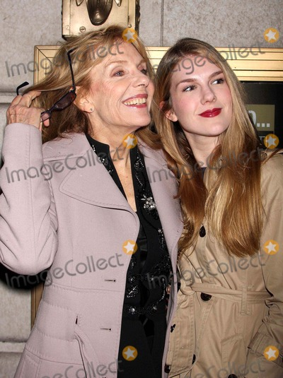 """Ethel Barrymore, Jill Clayburgh, Lily Rabe Photo - Jill Clayburgh and Lily Rabe Arriving at the Opening Night Performance of """"Exit the King"""" at the Ethel Barrymore Theatre in New York City on 03-26-2009. Photo by Henry Mcgee-Globe Photos, Inc. 2009."""