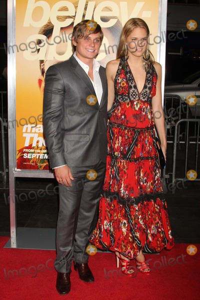 """Cody Horn, Billy Magnussen Photo - Billy Magnussen and Cody Horn Arriving at the Premiere of Warner Bros. Pictures' """"the Informant!"""" at the Ziegfeld Theatre in New York City 09-15-2009. Photo by Henry Mcgee-Globe Photos, Inc. 2009."""