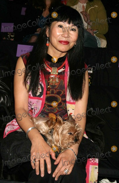 Amy Tan, Anna Sui Photo - Amy Tan at Anna Sui Showing of Fall Collection in the Tent at Bryant Park in New York City on 02-09-2005. Photo by Henry Mcgee/Globe Photos, Inc. 2005.
