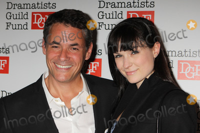 Adam Guettel Photo - Adam Guettel and Haley Bond Peterson Arriving at the Dramatists Guild Fund's 50th Anniversary Gala at the Mandarin Oriental New York in New York City on 06-03-2012. Photo by Henry Mcgee-Globe Photos, Inc. 2012.