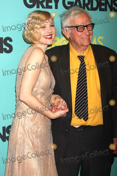 """Albert Maysles, Drew Barrymore Photo - Drew Barrymore and Albert Maysles Arriving at the Premiere of Hbo Films' """"Grey Gardens"""" at the Ziegfeld Theater in New York City on 04-14-2009. Photo by Henry Mcgee-Globe Photos, Inc. 2009."""