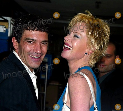 Antonio Banderas, Melanie Griffith, Melanie Griffiths Photo - ANTONIO BANDERAS AND MELANIE GRIFFITH IN THE PRESS ROOM FOR THE 48TH ANNUAL DRAMA DESK AWARDS AT FIORELLO H. LAGUARDIA HIGH SCHOOL OF MUSIC  & ART AND PERFORMING ARTS CONCERT HALL IN LINCOLN CENTER IN NEW YORK CITY ON MAY 18, 2003.PHOTO  HENRY MCGEE/GLOBE PHOTOS, INC. 2003.K30721HMC