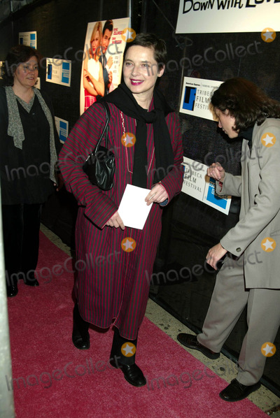 """Isabella Rossellini Photo - Sd05/06/2003 Tribeca Film Festival Premiere of """"Down with Love"""" at the Tribeca Performing Arts Center, New York City. Photo by Henry Mcgee / Globe Photos,inc. Isabella Rossellini"""