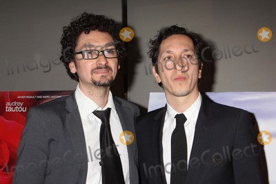 "Photo - Co-writers & Co-directors David Foenkinos and Stephane Foenkinos Arriving at the Rendez-vous with French Cinema's Closing Night Screening of ""Delicacy"" at Lincoln Center's Walter Reade Theater in New York City on 03-11-2012. Photo by Henry Mcgee-Globe Photos, Inc. 2012."