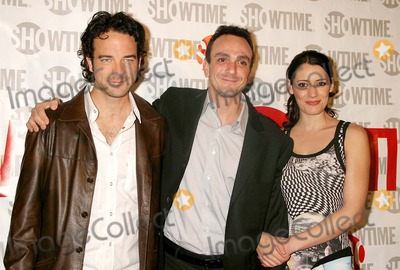 Andy Comeau, Hank Azaria, Paget Brewster Photo - Andy Comeau, Hank Azaria and Paget Brewster Arriving at the Premiere of Showtime's New Original Series Huff at the Hudson Theatre in New York City on November 1, 2004. Photo by Henry Mcgee/Globe Photos, Inc. 2004