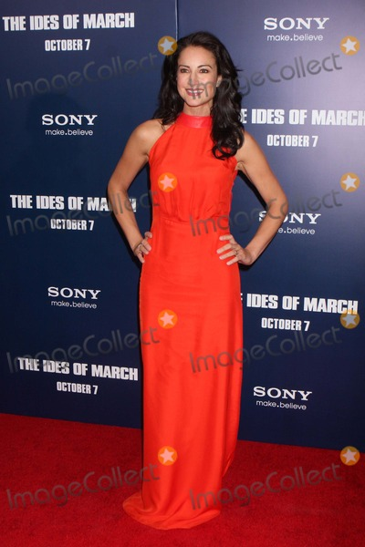 "America Olivo Photo - America Olivo Arriving at the Premiere of Columbia Pictures' ""the Ides of March"" at the Ziegfeld Theater in New York City on 10-05-2011. Photo by Henry Mcgee-Globe Photos, Inc. 2011."