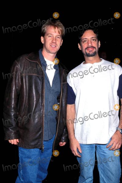 Anthony Cumia Photo - Sd1109 Xfl's NY / NJ Hitmen Unveil Uniforms at Wwf, New York. Anthony Cumia and Opie Hughs Photo: Henry Mcgee / Globe Photos Inc