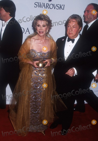 Arnold Scassi, Joan Rivers Photo - Sd06/03/02 2002 Cfda Fashion Awards Public Library ,NYC. Joan Rivers_arnold Scassi Photo by Henry Mcgee Globe Photos,