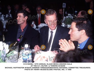 Andrew Tobias, Michael Bublé, Michael Paré Photo - 03/28/99 10th Annual Glaad Media Awards Gala at the N.Y. Hilton & Towers Michael Huffington W/date Andrew Tobias(democratic National Committee Treasurer) Photo by Henry Mcgee/Globe Photos, Inc.