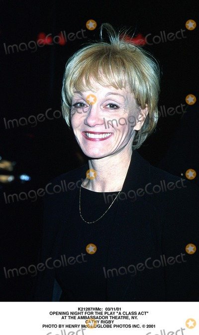 "Cathy Rigby Photo - : 03/11/01 Opening Night For the Play ""a Class Act"" at the Ambassador Theatre, NY. Cathy Rigby Photo by Henry Mcgee/Globe Photos Inc."