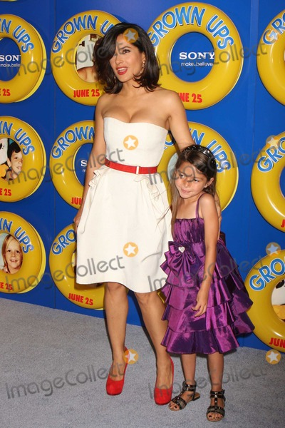 Salma Hayek, Alexys Nycole-Sanchez Photo - New York, NY 06-23-2010