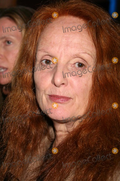 Carolina Herrera, Grace Coddington Photo - Grace Coddington at Carolina Herrera Showing of Fall Collection in the Tent at Bryant Park in New York City on 02-06-2006. Photo by Henry Mcgee/Globe Photos, Inc. 2006.