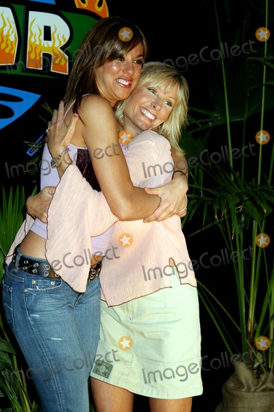 Jenna Morasca, Tina Wesson Photo - Survivor: Allstars Castaways, Madison Square Garden, New York City. 05/09/2004 Photo: Henry Mcgee / Globe Photos Inc 2004 Jenna Morasca and Tina Wesson