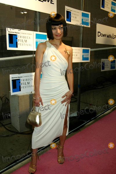 """Bai Ling Photo - Sd05/06/2003 Tribeca Film Festival Premiere of """"Down with Love"""" at the Tribeca Performing Arts Center, New York City. Photo by Henry Mcgee / Globe Photos,inc. Bai Ling"""