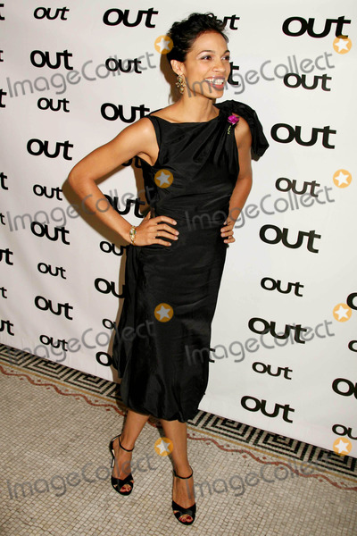 Rosario Dawson Photo - Rosario Dawson Arriving at Out Magazine's 11th Annual Out 100 Issue Gala at Capitale in New York City on 11-11-05. Photo by Henry Mcgee/Globe Photos, Inc. 2005.