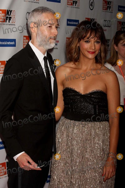 """Adam Yauch, Rashida Jones Photo - Adam Yauch and Rashida Jones Arriving at the Opening Night of the 48th New York Film Festival World Premiere of """"the Social Network"""" at Lincoln Center's Alice Tully Hall in New York City on 09-24-2010. Photo by Henry Mcgee-Globe Photos, Inc. 2010."""