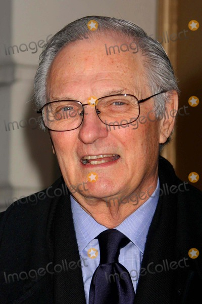 """Alan Alda Photo - Alan Alda Arriving the Opening Night Performance of """"God of Carnage at the Bernard B. Jacobs Theatre in New York City on 03-22-2009. Photo by Henry Mcgee-Globe Photos, Inc. 2009."""