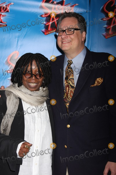 """Douglas Carter Beane, Whoopi Goldberg, Whoopie Goldberg Photo - New York City 20th April 2011Whoopi Goldberg and Douglas Carter Beane at opening night of """"Sister Act"""" on Broadway at The Broadway TheatrePhoto by Adam Nemser-PHOTOlink.net"""
