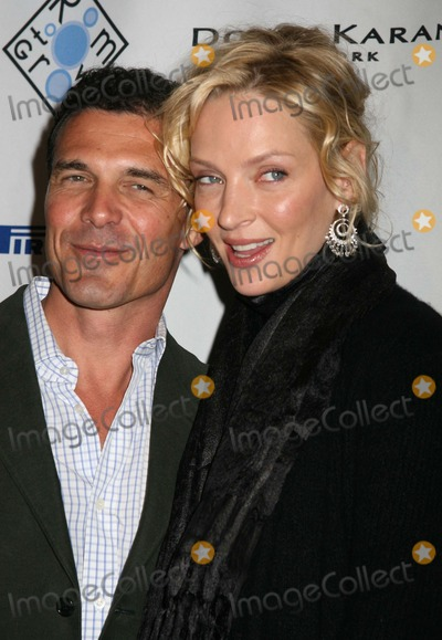 Uma Thurman, Andre Balazs, Andr Balazs Photo - NYC  01/23/07