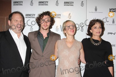 Aaron Johnson, Harvey Weinstein, Kristin Scott Thomas, Sam Taylor-Wood, Scott Thomas, Sam Taylor Photo - NYC  09/21/10