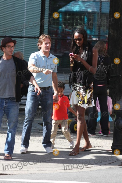 Luca Orlandi, Oluchi, Oluchi Onweagba Photo - NYC  05/16/10
