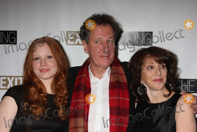 Rush, Andrea Martin, Ethel Barrymore, Geoffrey Rush, Lauren Ambrose Photo - NYC  03/26/09