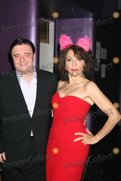 Andrea Martin, Nathan Lane Photo - NYC  06/22/08Nathan Lane and Andrea Martin back stage at BROADWAY BARES 18: WONDERLAND benefiting Broadway Cares/Equity Fights AIDS at Roseland BallroomDigital Photo by Adam Nemser-PHOTOlink.net