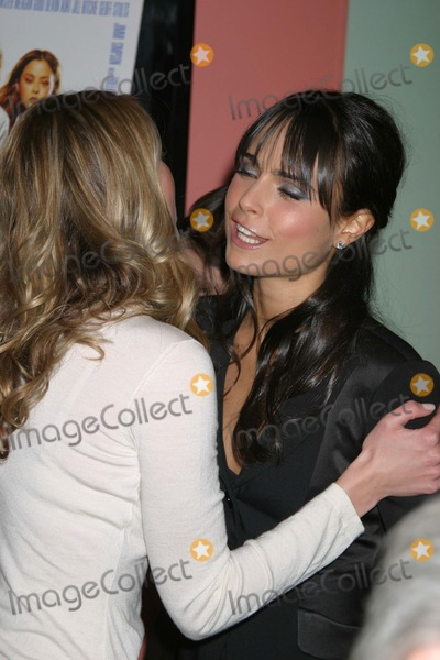 Photos And Pictures Nyc  Sara Foster And Jordana Brewster Air Kissing At A Screening Of Their New Movie D E B S In Chelsea Digital Photo By