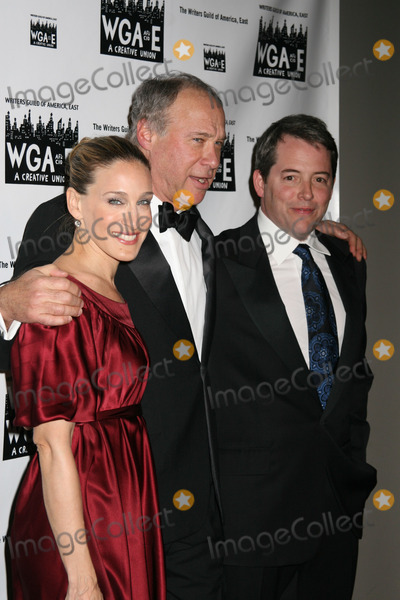 Andrew Bergman, Matthew Broderick, Sarah Jessica Parker, SARAH JESSICA-PARKER Photo - NYC  02/11/07