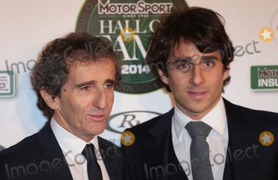 Alain Prost Photo - Jan 29, 2014 - London, England, UK - Motor Sport Hall of Fame, Royal Opera House, LondonPictured: Alain Prost and son Nicolas Prost