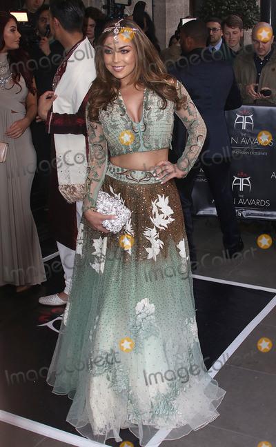 Abigail Clarke Photo - April 8, 2016 - Abigail Clarke attending The Asian Awards 2016, Grosvenor House Hotel in London, UK.