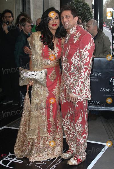 Alex Reid Photo - April 8, 2016 - Alex Reid and Nikki Manashe attending The Asian Awards 2016, Grosvenor House Hotel in London, UK.