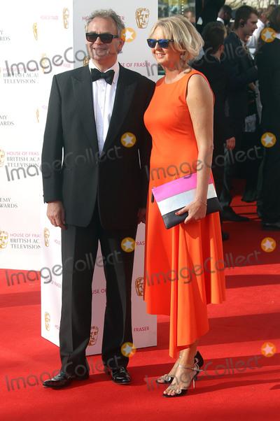 Hugh Bonneville, Lulu Photo - May 8, 2016 -  Hugh Bonneville and wife Lulu Williams attending BAFTA TV Awards 2016 at Royal Festival Hall in London, UK.