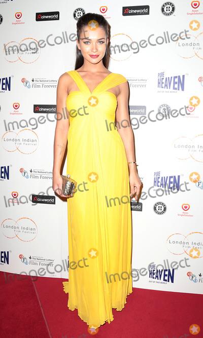Amy Jackson Photo - Jul 10, 2014 - London, England, UK - The London Indian Film Festival opening film 'Sold' at Cineworld HaymarketPhoto Shows: Amy Jackson