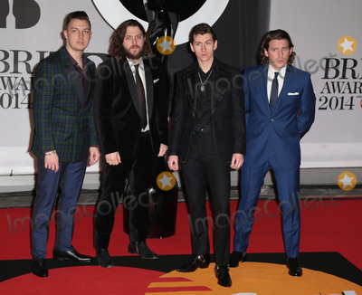 Arctic Monkeys, The Arctic Monkeys Photo - Feb 19, 2014 - London, England, UK - Brit Awards 2014, O2 Arena, LondonPictured: The Arctic Monkeys