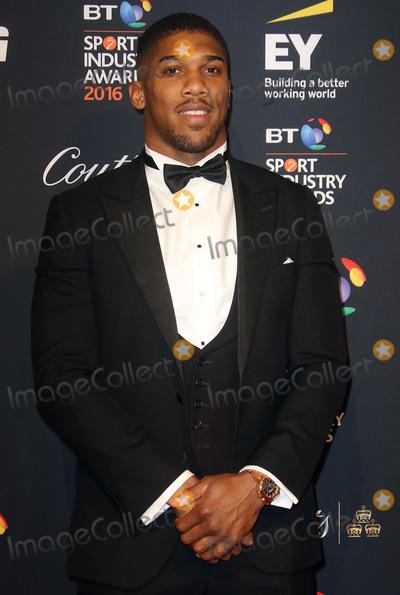 Anthony Joshua Photo - April 29, 2016 - Anthony Joshua attending BT Sport Awards at Battersea Evolution in London, UK.