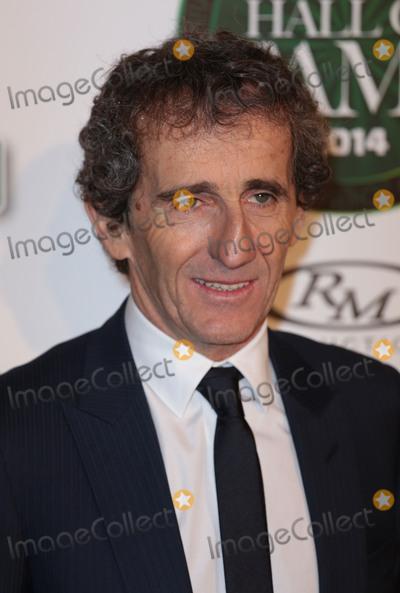 Alain Prost Photo - Jan 29, 2014 - London, England, UK - Motor Sport Hall of Fame, Royal Opera House, LondonPictured: Alain Prost