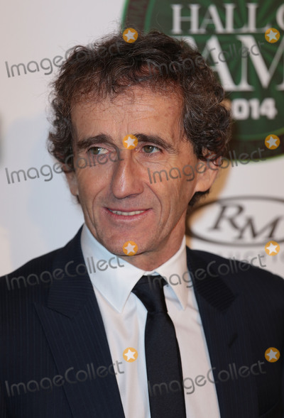 Alain Prost Photo - Jan 29, 2014 - London, England, UK - Motor Sport Hall of Fame, Royal Opera House, London