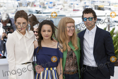 Andrea Arnold, Riley Keough, Sasha, Shia La Beouf, Sasha Lane Photo - CANNES, FRANCE - MAY 15: Riley Keough, Sasha Lane, Andrea Arnold and Shia LaBeouf attend the 'American Honey' photocall during the 69th annual Cannes Film Festival at the Palais des Festivals on May 15, 2016 in Cannes, France.(Photo by Laurent Koffel/ImageCollect.com)