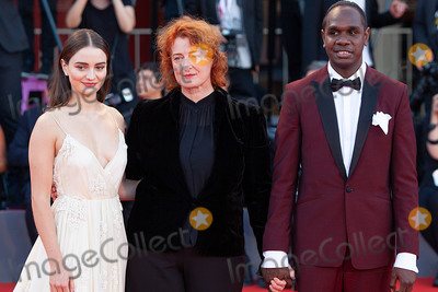 Aisling Franciosi Photo - VENICE, ITALY - SEPTEMBER 08: Aisling Franciosi, Jennifer Kent and Baykali Ganambarr walk the red carpet ahead of the Award Ceremony during the 75th Venice Film Festival at Sala Grande on September 8, 2018 in Venice, Italy.