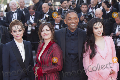 Agnes Jaoui, Fan Bingbing, Maren Ade, Will Smith Photo - CANNES, FRANCE - MAY 23: Maren Ade, Agnes Jaoui, Will Smith, Fan Bingbing attend the 70th Anniversary of the 70th annual Cannes Film Festival at Palais des Festivals on May 23, 2017 in Cannes, France.(Photo by Laurent Koffel/ImageCollect.com)