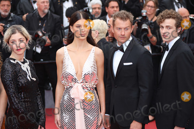 """Badge Dale, James Badge Dale, Annabelle Attanasio, Camila Morrone Photo - CANNES, FRANCE - MAY 18: Annabelle Attanasio, Camila Morrone and James Badge Dale attends the screening of """"Les Plus Belles Annees D'Une Vie"""" during the 72nd annual Cannes Film Festival on May 18, 2019 in Cannes, France. (Photo by Laurent Koffel/ImageCollect.com)"""