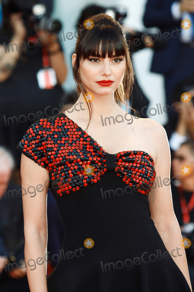"Hüsker Dü Photo - VENICE, ITALY - SEPTEMBER 4: Iliana Papageorgiou walks the red carpet ahead of the ""Lan Xin Da Ju Yuan"" (Saturday Fiction) screening during the 76th Venice Film Festival at Sala Grande on September 04, 2019 in Venice, Italy.