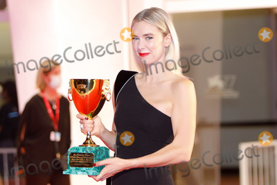 Vanessa Kirby Photo - VENICE, ITALY - SEPTEMBER 12: Vanessa Kirby poses with the Coppa Volpi for Best Actor during the winners photocall at the 77th Venice Film Festival on September 12, 2020 in Venice, Italy.  (Photo by Laurent Koffel/ImageCollect.com)