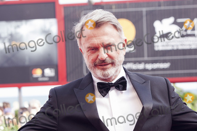 Sam Neill, The Sweet Photo - VENICE, ITALY - SEPTEMBER 06: Sam Neill walks the red carpet ahead of the 'Sweet Country' screening during the 74th Venice Film Festival at Sala Grande on September 6, 2017 in Venice, Italy.(Photo by Laurent Koffel/ImageCollect.com)