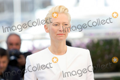 """The Dead, Tilda Swinton Photo - CANNES, FRANCE - MAY 15: Tilda Swinton attends the photocall for """"The Dead Don't Die"""" during the 72nd annual Cannes Film Festival on May 15, 2019 in Cannes, France. (Photo by Laurent Koffel/ImageCollect.com)"""